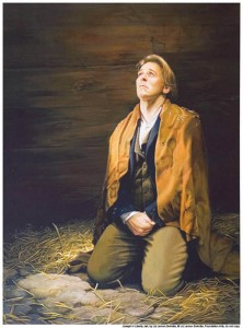 Joseph Smith looking for God