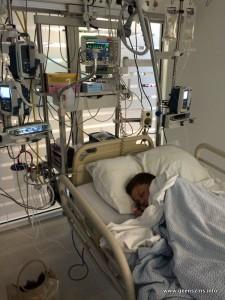 Laurens op intensive care
