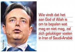 Bart De Wever over God