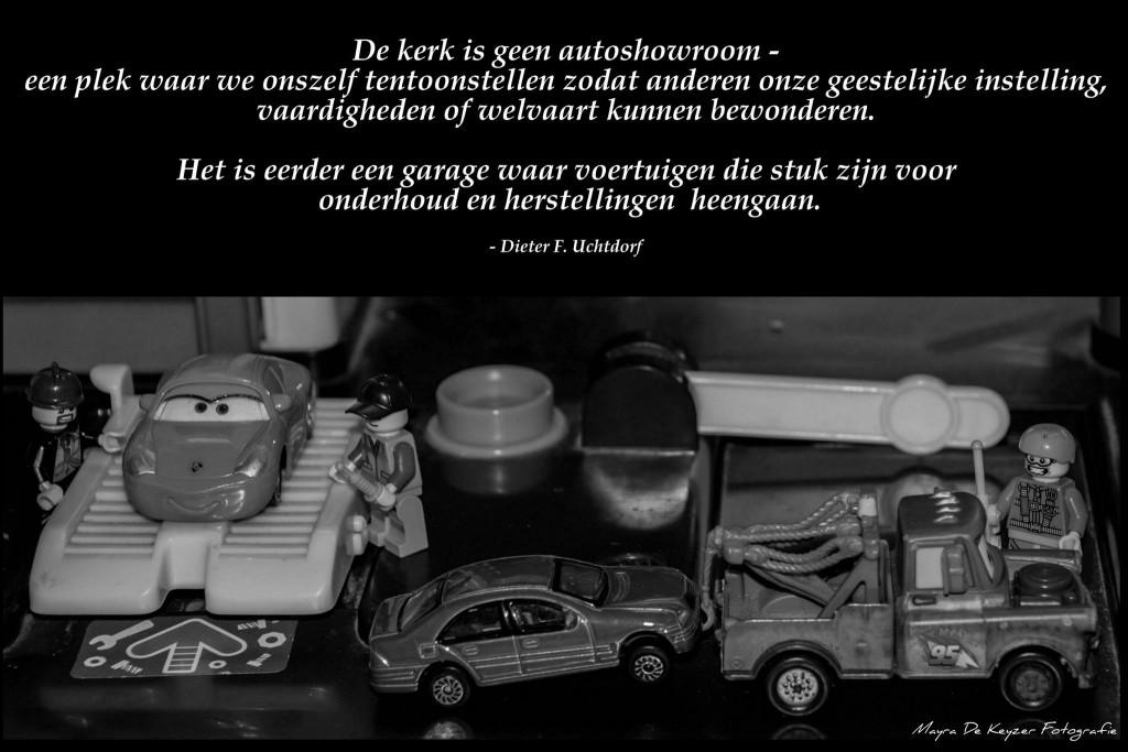 Garage - president Uchtdorf