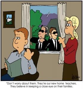 mormoons huisonderwijs cartoon