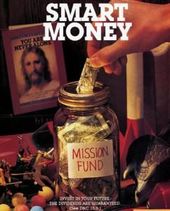 Mormonen sparen voor hun zending