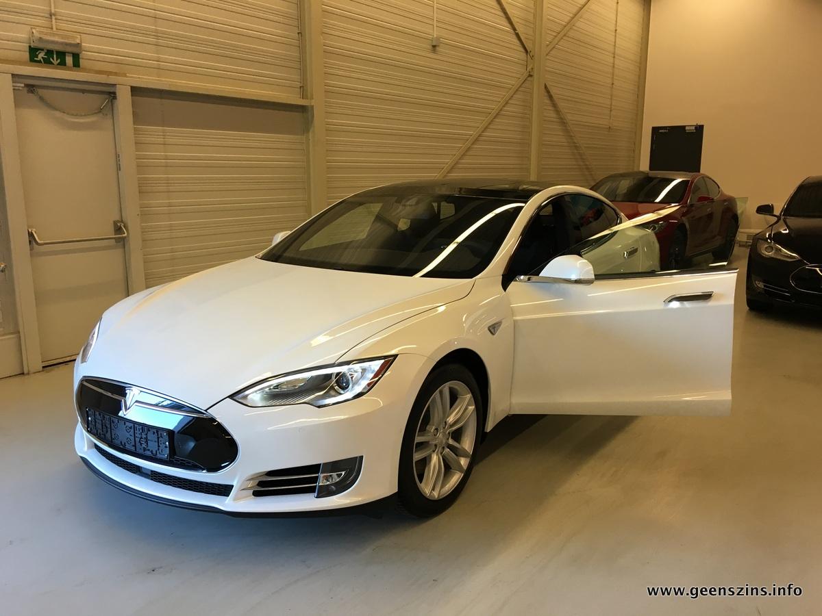Tesla Model S Van Aankoop Tot Levering Geenszins