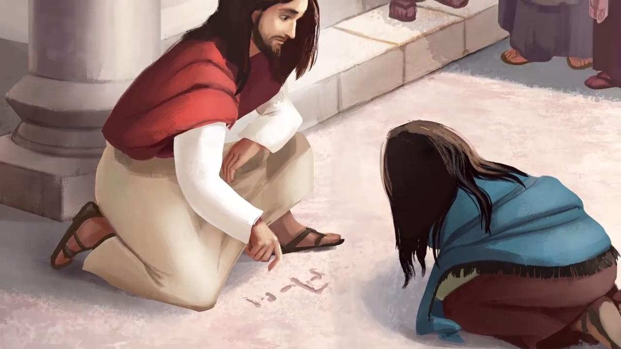 Christus schenkt vergiffenis
