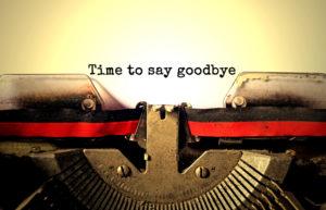 Afscheid nemen