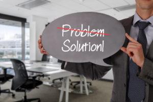 Geen problemen maar oplossingen