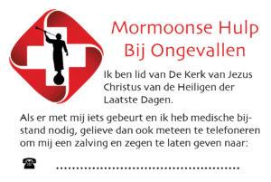 mormoonse hulp bij ongevallen
