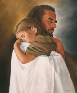 Een knuffel van Christus